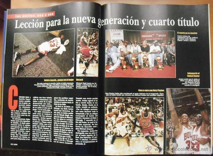 Coleccionismo deportivo: Coleccionable de Michael Jordan (1999) - Revistas Gigantes del basket - NBA - Foto 7 - 51195005