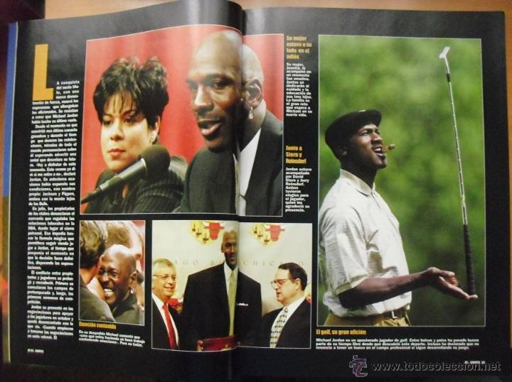 Coleccionismo deportivo: Coleccionable de Michael Jordan (1999) - Revistas Gigantes del basket - NBA - Foto 8 - 51195005