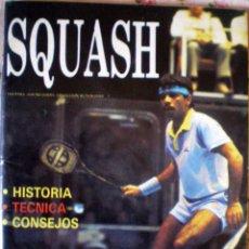 Coleccionismo deportivo: EXCLUSIVA REVISTA DEPORTE SQUASH COLECCIÓN ACTUALIDAD 7 A. Z. 1987 NUEVA HISTORIA TÉCNICA CONSEJOS. Lote 51360834