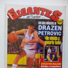 Coleccionismo deportivo: REVISTA GIGANTES DEL BASKET Nº174 - 6 MARZO 1989 - POSTER MICHAEL JORDAN ALL STAR 89 - PETROVIC . Lote 51497542