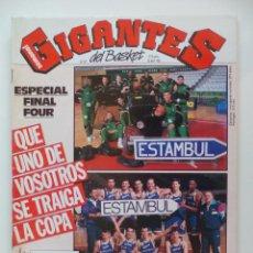 Coleccionismo deportivo: REVISTA GIGANTES DEL BASKET Nº337 - 20 ABRIL 1992 - PREVIA FINAL FOUR + POSTER COZELL MCQUEEN CAI . Lote 51498120
