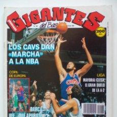 Coleccionismo deportivo: REVISTA GIGANTES DEL BASKET Nº 168 - 23 ENERO 1989 - POSTER JOSE BIRIUKOV REAL MADRID -. Lote 51511854