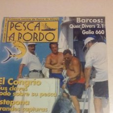 Coleccionismo deportivo: PESCA A BORDO Nº 74 OCTUBRE 2001. Lote 51470216