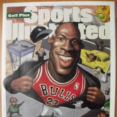 Coleccionismo deportivo: MICHAEL JORDAN - REVISTA ''SPORTS ILLUSTRATED'' - RETORNO DE 1995 - NBA. Lote 51570973