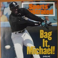 Coleccionismo deportivo: MICHAEL JORDAN - REVISTA ''SPORTS ILLUSTRATED'' - BÉISBOL (1994) - NBA. Lote 51570982