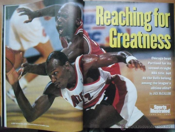 Coleccionismo deportivo: Michael Jordan - Revista Sports Illustrated - Segundo anillo (1992) - NBA - Foto 2 - 51570991