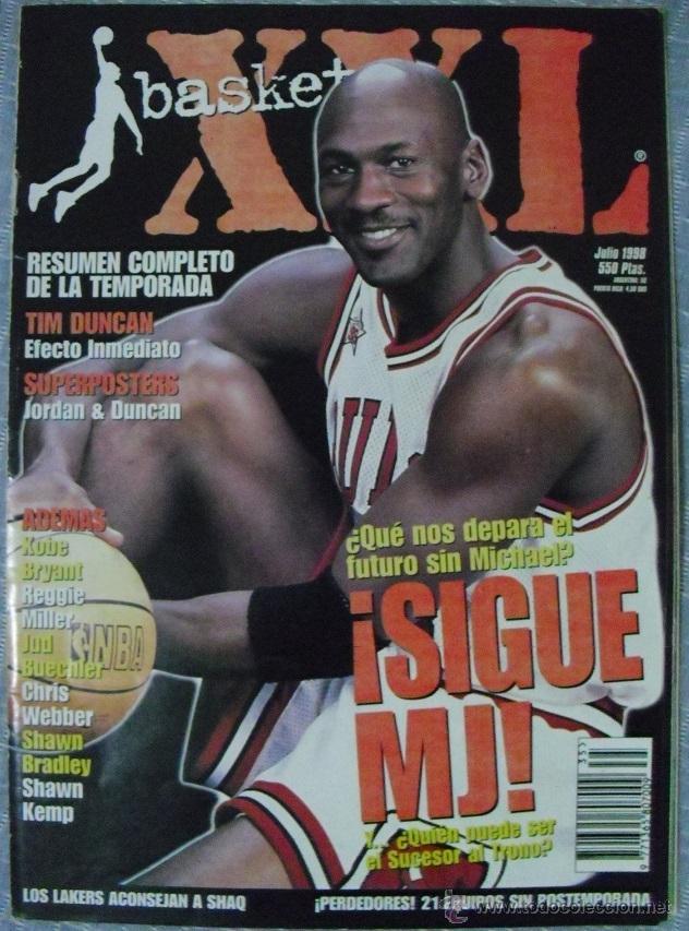 MICHAEL JORDAN - REVISTA ''XXL BASKET'' (1998) - NBA (Coleccionismo Deportivo - Revistas y Periódicos - otros Deportes)