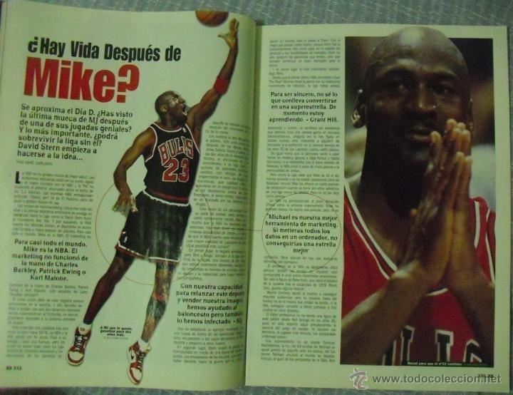 Coleccionismo deportivo: Michael Jordan - Revista ''XXL Basket'' (1998) - NBA - Foto 2 - 51621018