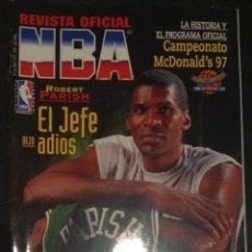 Coleccionismo deportivo: REVISTA OFICIAL NBA NUMERO Nº 66 BASKET BALONCESTO SUPER POSTER . Lote 51726257