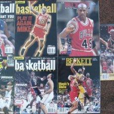 Coleccionismo deportivo: MICHAEL JORDAN - 7 REVISTAS ''BECKETT BASKETBALL'' - NBA. Lote 51762172