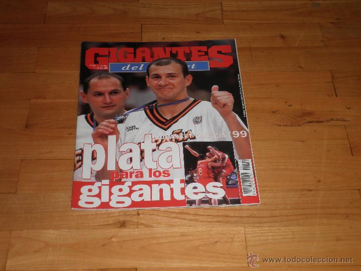 BALONCESTO. REVISTA GIGANTES DEL BASKET Nº724. 1999. (Coleccionismo Deportivo - Revistas y Periódicos - otros Deportes)