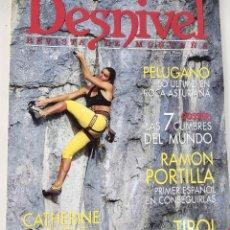Coleccionismo deportivo: DESNIVEL. REVISTA DE MONTAÑA. Nº 96 MAYO 1994. Lote 51930201