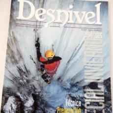 Coleccionismo deportivo: DESNIVEL. REVISTA DE MONTAÑA. NUMERO EXTRAORDINARIO 2004-2005 ESPECIAL INVIERNO. Lote 51930557