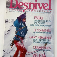 Coleccionismo deportivo: DESNIVEL. REVISTA DE MONTAÑA. Nº 92 FEBRERO 1994. Lote 51932503