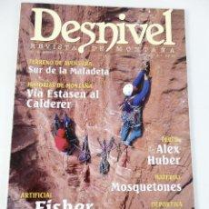 Coleccionismo deportivo: DESNIVEL. REVISTA DE MONTAÑA. Nº 131 AGOSTO 1997. Lote 51932595