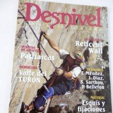 Coleccionismo deportivo: DESNIVEL. REVISTA DE MONTAÑA. Nº 135 DICIEMBRE 1997. Lote 51933001