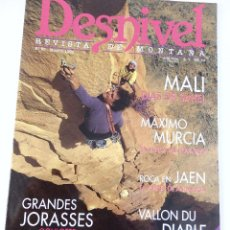 Coleccionismo deportivo: DESNIVEL. REVISTA DE MONTAÑA. Nº 93 MARZO 1994. Lote 51933141