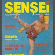 Coleccionismo deportivo: SENSEI Nº 4 MAYO 1988 , ARTES MARCIALES , BRUCE LEE , LOS AÑOS DE OAKLAND. Lote 52405739