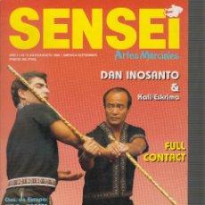 Coleccionismo deportivo: SENSEI Nº 6 , ARTES MARCIALES , OFERTA. Lote 52406009