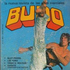 Coleccionismo deportivo: REVISTA ARTES MARCIALES , BUDO Nº 10. Lote 52406291