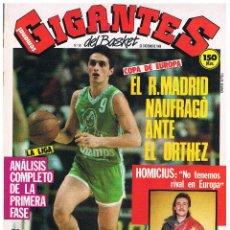 Coleccionismo deportivo: GIGANTES DEL BASKET Nº 59. Lote 52723050