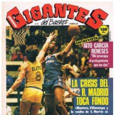 Coleccionismo deportivo: GIGANTES DEL BASKET Nº 65. Lote 52723398