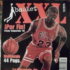 Coleccionismo deportivo: REVISTA ''XXL BASKET'' (1999) - ESPECIAL MICHAEL JORDAN - RETIRADA DE 1999 - NBA. Lote 52755765