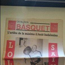 Coleccionismo deportivo: CATALUNYA BASKET Nº 17 JUNY 1991 REVISTA BALONCESTO CATALÀ SANT QUIRZE DE VALLÉS SANT FELIU. Lote 53040728