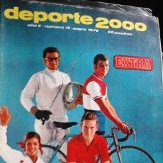 Coleccionismo deportivo: DEPORTE 2000, Nº 12, ENERO 1970. Lote 53137914
