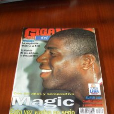 Coleccionismo deportivo: GIGANTES DEL BASKET Nº 535 - EN PORTADA MAGIC JOHNSON. Lote 53328740