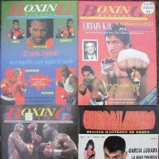 Coleccionismo deportivo: REVISTAS DE BOXEO ''BOXING MUNDIAL'' Y ''CUADRILÁTERO'' (1992-93) Y ''BOXEO Y ARTES MARCIALES''. Lote 53379322
