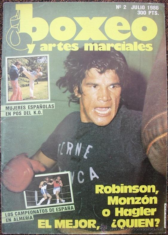 Coleccionismo deportivo: Revistas de boxeo Boxing mundial y Cuadrilátero (1992-93) y Boxeo y artes marciales - Foto 2 - 53379322