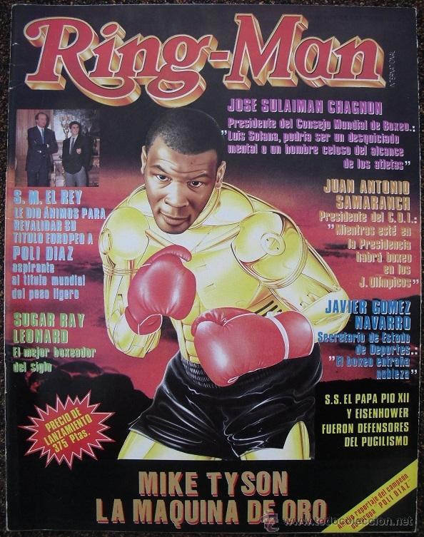 REVISTA DE BOXEO ''RING-MAN'' Nº 1 (SEPTIEMBRE DE 1989) - MIKE TYSON (Coleccionismo Deportivo - Revistas y Periódicos - otros Deportes)