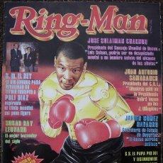Coleccionismo deportivo: REVISTA DE BOXEO ''RING-MAN'' Nº 1 (SEPTIEMBRE DE 1989) - MIKE TYSON. Lote 53379340