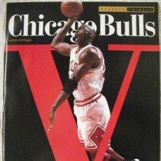 Coleccionismo deportivo: MICHAEL JORDAN & CHICAGO BULLS - REVISTA ''BECKETT BASKETBALL'' - ESPECIAL QUINTO ANILLO (1997). Lote 53379344