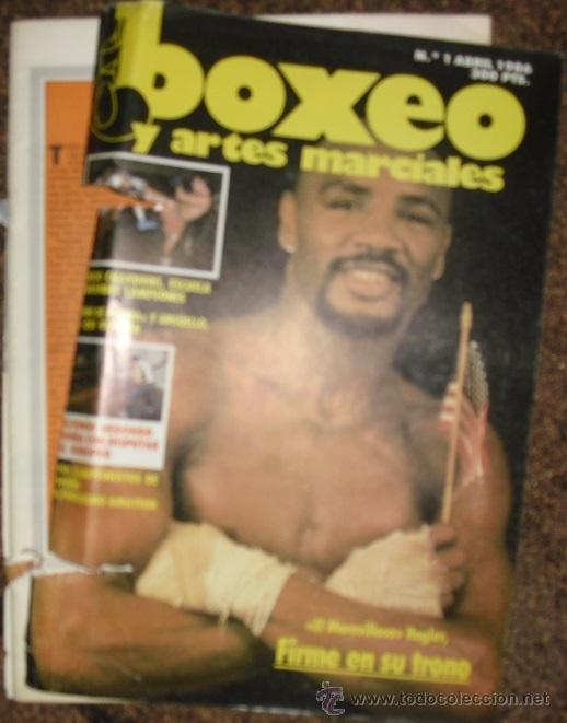 Coleccionismo deportivo: Revistas de boxeo Boxing mundial y Cuadrilátero (1992-93) y Boxeo y artes marciales - Foto 3 - 53379322