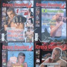 Coleccionismo deportivo: ARTES MARCIALES MIXTAS (MMA) - LOTE DE CINCO REVISTAS ''CROSS COMBAT'' - NÚM. 4, 5, 6, 9 Y 16. Lote 151554516