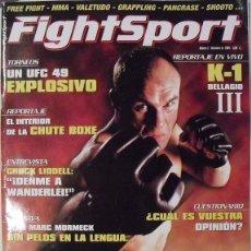 Coleccionismo deportivo: REVISTA DE ARTES MARCIALES MIXTAS (MMA) ''FIGHTSPORT'' - Nº 2 (2004). Lote 151554569