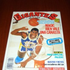 Coleccionismo deportivo: GIGANTES DEL BASKET Nº 256 - EN PORTADA MAGIC JOHNSON. Lote 53432427