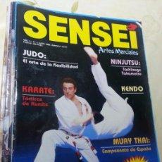 Coleccionismo deportivo: SENSEI - Nº 5 AÑO 1 - REVISTA ARTES MARCIALES. Lote 53544124