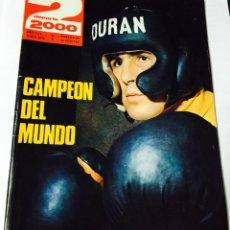 Coleccionismo deportivo: REVISTA DEPORTE 2000 - Nº 89 (JUNIO 1976) - DURAN CAMPEÓN MUNDIAL DE BOXEO - FORMULA 1 - CICLISMO. Lote 53588886