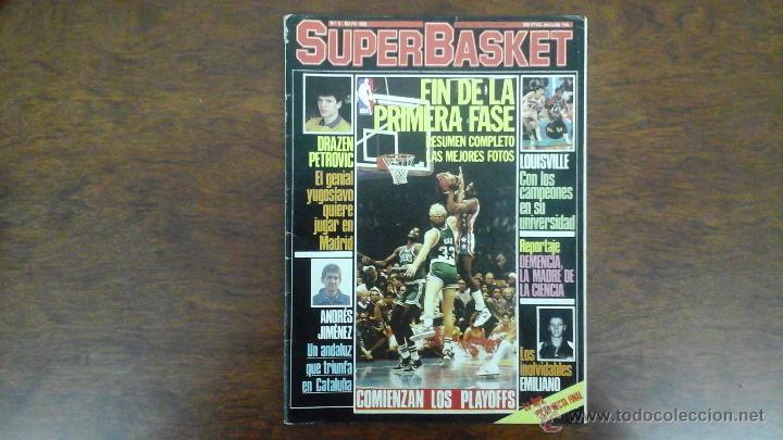 REVISTA SUPERBASKET N° 3 AÑO 1986.PETROVIC/ANDRES JIMENEZ (Coleccionismo Deportivo - Revistas y Periódicos - otros Deportes)