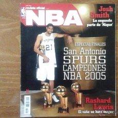 Coleccionismo deportivo: REVISTA OFICIAL NBA N° 155 JULIO 2005.ESPECIAL FINALES.SAN ANTONIO SPURS CAMPEONES NBA 2005. Lote 53668441