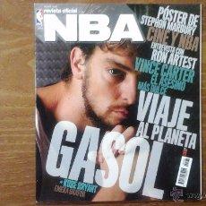 Coleccionismo deportivo: REVISTA OFICIAL NBA N° 162 FEBRERO 2006.PAU GASOL. Lote 53668508