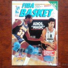 Coleccionismo deportivo: REVISTA FIFA BASKET N° 1 DICIEMBRE 1991.ADIOS MAGIC. Lote 53692609