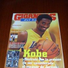 Coleccionismo deportivo: GIGANTES DEL BASKET Nº 851 - EN PORTADA KOBE BRYANT. Lote 53717842