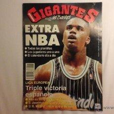 Coleccionismo deportivo: REVISTA GIGANTES N° 418 NOVIEMBRE 1993.EXTRA NBA. Lote 53732783