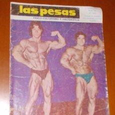 Coleccionismo deportivo: REVISTA LAS PESAS Nº 139, JUNIO 1975. Lote 54251755
