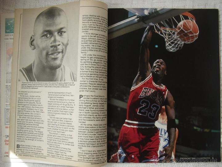 Coleccionismo deportivo: Michael Jordan - Revista especial A final tribute. 1985-1993 - con pósters - Foto 3 - 54258044