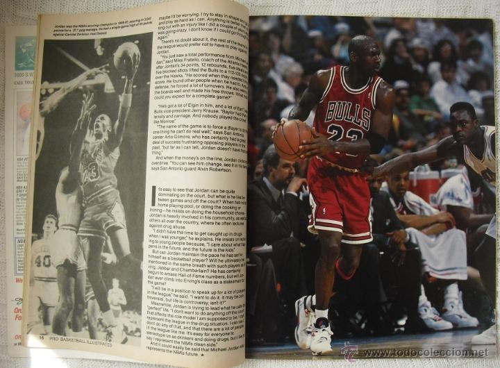 Coleccionismo deportivo: Michael Jordan - Revista especial A final tribute. 1985-1993 - con pósters - Foto 4 - 54258044